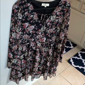 Vici dolls floral dress size small